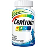 Centrum Men Multivitamin/Multimineral Supplement Tablet, Vitamin D3 (200 Count)