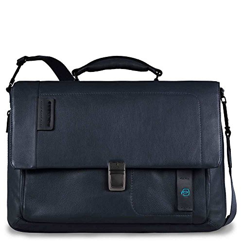 Piquadro Pulse 14'' Cartella con scomparto per laptop CA3111P15-BLU3