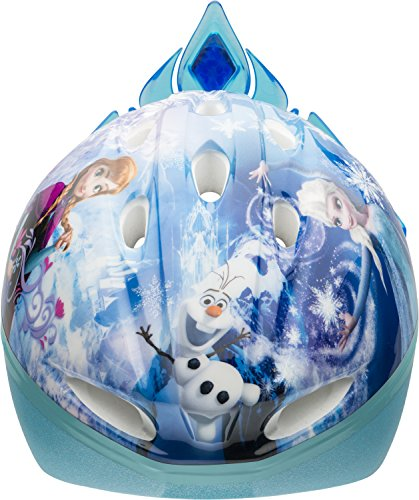 Bell Kinder Frozen Child Bike 3D Tiara Helmet, Multi-Coloured, 50-54 cm