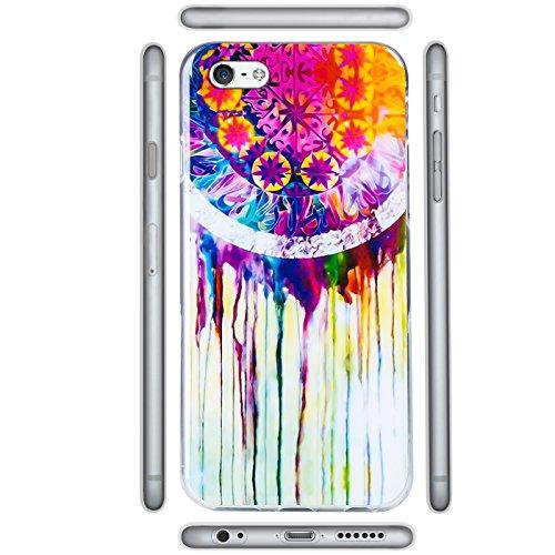 iPhone 7 Hülle Schutzhülle Cover Tasche Rückschale Motivcase Design Case Bunt Motiv 5
