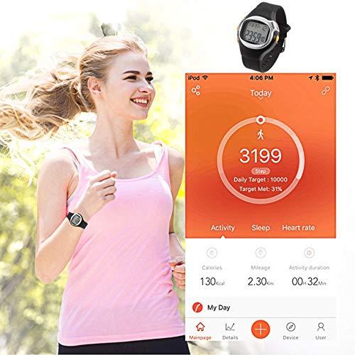 Heraihe Portable multifunktionale Erzeugungs-Digital-Touch-Sensor-Impuls-Puls-Monitor-Uhr Entwickelt für Outdoor Sport