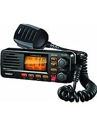 NEW Uniden um380Support fixe Radio VHF/Marin 2voies Noir