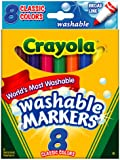 Crayola Washable Markers 8-Count