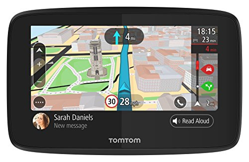 TomTom GO 520 - Navegador GPS de 5'' (Bluetooth, USB, 16 GB), color negro