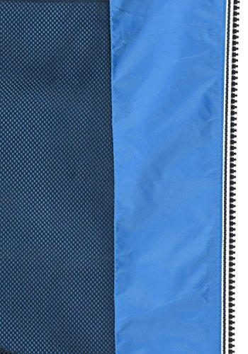 Blend Nevi Herren Windbreaker Regenjacke Übergangsjacke Mit Kapuze, Größe:S, Farbe:Nautical Blue (74632) - 6