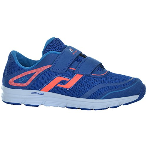 Pro Touch Run-Schuh OZ Pro 4 Klett JR - PINK/ORANGE Blau