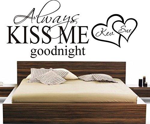 always-kiss-me-goodnight-personalizzato-wall-art-sticker-camera-da-letto-home-diy-gift-legno-black-1