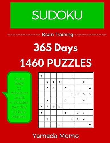 Sudoku: Brain Training 365 Days: 365 Days 1,460 Puzzle (Play it, Feel it Everyday): Volume 6