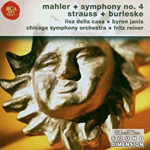 Symphony No. 4/Burleske (Reiner, Chicago So)