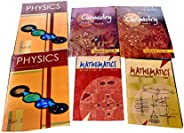 NCERT textbooks class 12th physics part 1&2 chemistry part 1&2 and mathematics combo 2019 set o