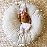 Keep Loving Baby Feeding Chair Multi-Function Nursling Sofa Cover Infant Bean Bag 90x90Cm - Grey