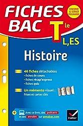 Fiches bac Histoire Tle L, ES: fiches de révision - Terminale L, ES