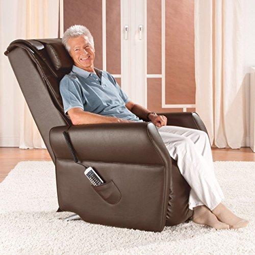 Massagesessel »Novum«, mit Aufstehhilfe und Shiatsu-Massage (Braun)