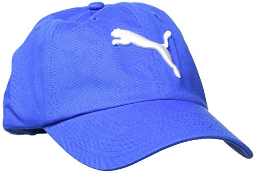 Puma ESS Cap Kappe, Strong Blue-Big Cat, Adult