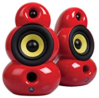 Scandyna SmallPod Bluetooth Speaker with Spike Legs - Red