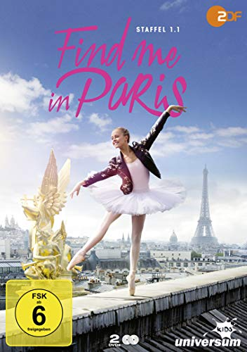 Find Me in Paris - Staffel 1.1 [2 DVDs]