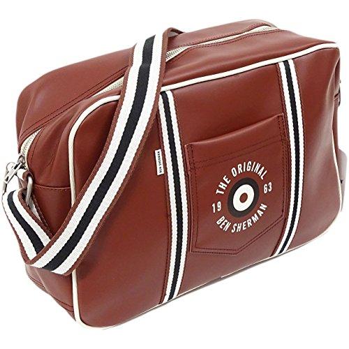 ben-sherman-ben-bag-mh12484-bolso-al-hombro-de-polister-para-hombre-rojo-granate