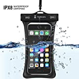 Tarkan Floating Air Bag Underwater Waterproof Mobile Protection Pouch for iPhone X/Xs Max/Xr/8