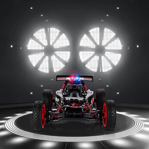 ZFLIN RC Auto 1:16 mit 2.4Ghz Fernsteuerung Monster-Truck RC Buggy elektrischer Hochgeschwindigkeits-Rennwagen mit 2WD und 50m Reichweite der Funkfernsteuerung - 2
