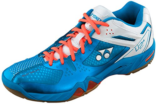 Yonex Shb 02 Mx Badminton Shoes, UK 9 (Blue)