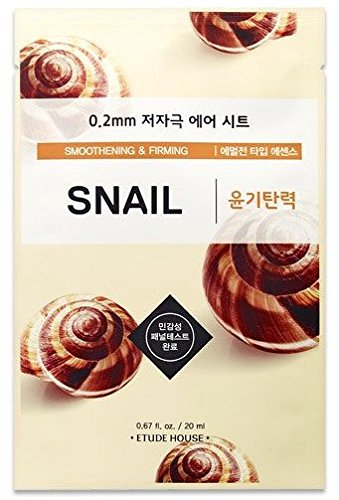 Masque anti-arrugas etude House 0. 2 Therapy Air Mask Snail (Pack de 2)