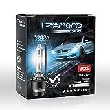 D2S Xenon Brenner HID 35W 85V 6000K - 8000K von Diamond Vision für Abblendlicht Fernlicht Entladungslampe Brenner Lampen Birnen Night Breaker Bulbs P32d-2