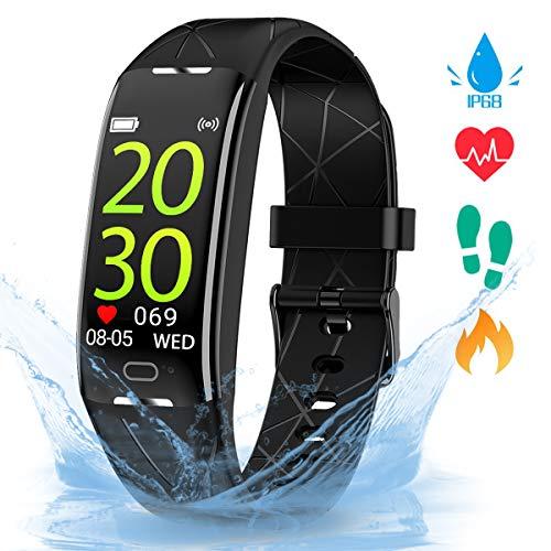 Gopark Boys Armband, Smartwatch mit Pulsmesser Fitness Tracker Aktivitätstracker IP68 Was