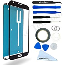Schermo tattile di ricambio per Samsung Galaxy Note 2 N7100 Series NERO Incluso kit con (Rullo Cover Set)
