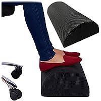OurLeeme Poggiapiedi sotto la scrivania, Piedi ergonomici Cuscino poggiatesta Design a Mezzo Cilindro Miglioramento…