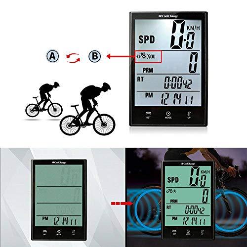 Zoom IMG-3 mzj contachilometri contagiri per bicicletta