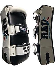 Rad MMA Strike Bras Shield courbe d'entraînement Thai Pad Kick mise au point Cible de boxe Mitaines Senior, Junior (Un seul Article)