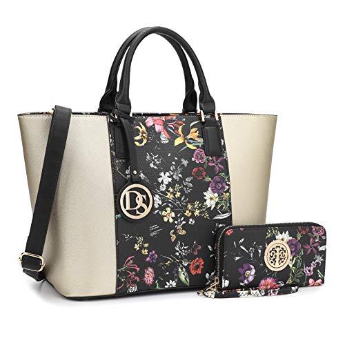 b044b56c0b1f1 Women Ladies Designer Handbags Purses Large Shoulder Bags Tote Top Handle  Work Bags Hobo with Matching