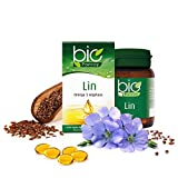 Ponroy - Huile de Lin Bio en capsules - Bioconseils