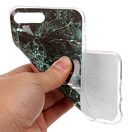 Für Apple IPhone 7 Plus Fall Marbling Texture Soft TPU Abdeckung Slim Ultra Thin Anti-Kratzer Schock Absorption Schutzmaßnahmen zurück Cover Shell ( Color : J ) F