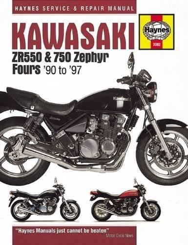 Kawasaki Zr550 & 750 Zephyr Fours (90-97) (Haynes Service & Repair Manual)