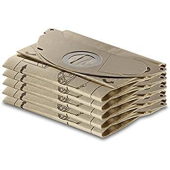 5x Original Kärcher Papierfiltertüten WD Staubsauger Staubsaugerbeutel 69043220