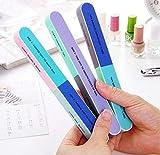 Nagelfeile und Nagel-Puffer-kosmetische Nagel-Schneiden, 6 Spielraum kreativer Druck-Nagel-Akten-versandender Sand sechsseitige Polierfeilen-Nagel-Werkzeug