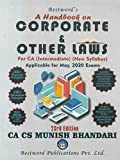 A Handbook On Corporate and Other Laws (New Syllabus) 23rd Edition 2020