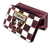 tex family Cuscino da Stadio Ufficiale Torino FC Calcio Originale Toro e Cartolina Torino È