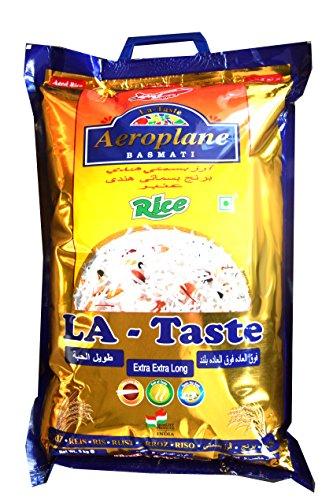LA TASTE Basmatireis, Spitzenqualität, Extra Extra Long (5 kg)