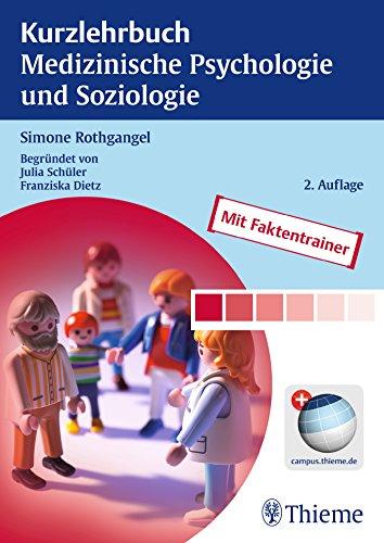 Cover »Kurzlehrbuch Medizinische Psychologie und Soziologie«