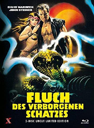 Fluch des verborgenen Schatzes - Uncut [Blu-ray] [Limited Edition] Preisvergleich