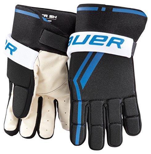 Bauer Youth Street Hockey Handschuh (Paar), XS, schwarz