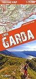 Lago de Garda, mapa excursionista plastificado. Escala 1:50.000. TeraQuest. (trekking map)