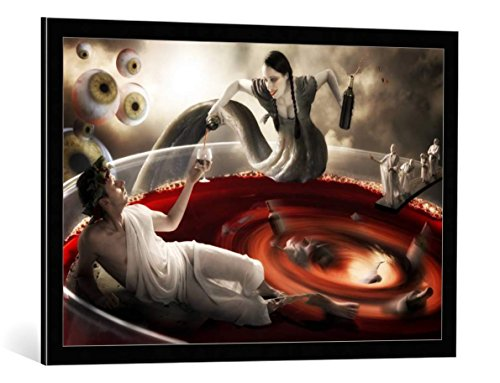 framed-art-print-christophe-kiciak-delirium-tremens-decorative-fine-art-poster-picture-with-high-qua