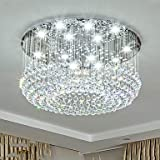 Kristall Kronleuchter Moonlight - Kristall, Inklusive Glühbirne, Designer, 110-120V / 220-240V, Wärm Weiß/Kühl Weiß, Inklusive Glühbirne