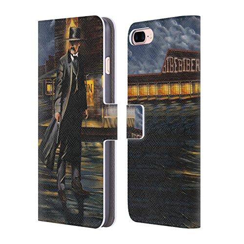 Ufficiale Geno Peoples Art In Alto Vita Cover a portafoglio in pelle per Apple iPhone 6 Plus / 6s Plus Tomba