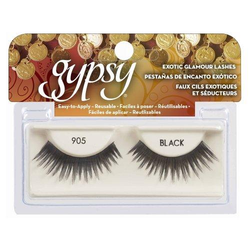 (6 Pack) GYPSY LASHES False Eyelashes - 905 Black