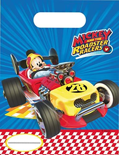 Generique - 6 Partytüten Mickey Racing