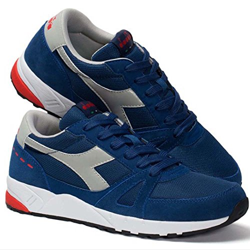 Diadora Run 90, Unisex-adult Low Neck Sneaker C2935 Blu